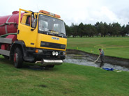 Holiday parks sewage removal