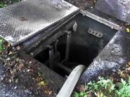 pump chambers cleaned