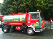 Septic Tank emptying lorry